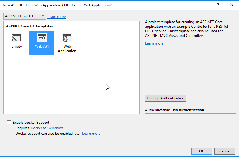 Change Default Swagger Route in an ASP Net Core Web Api